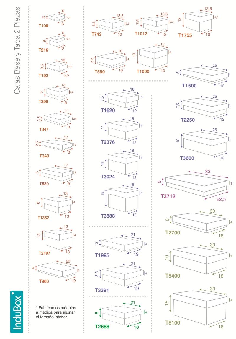 Cajas y Estuches Blancos en Triplex